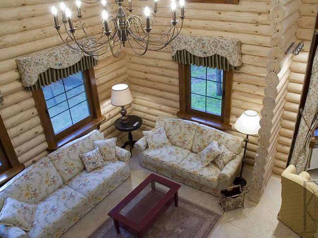 Конечная цель каждого дачника - стильный и надежный дом, который теперь можно построить и из бревна