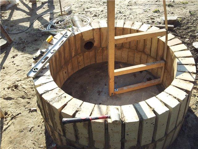 Как сделать круглую печку из кирпича