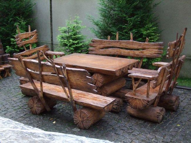 Работы из дерева своими руками для дачи