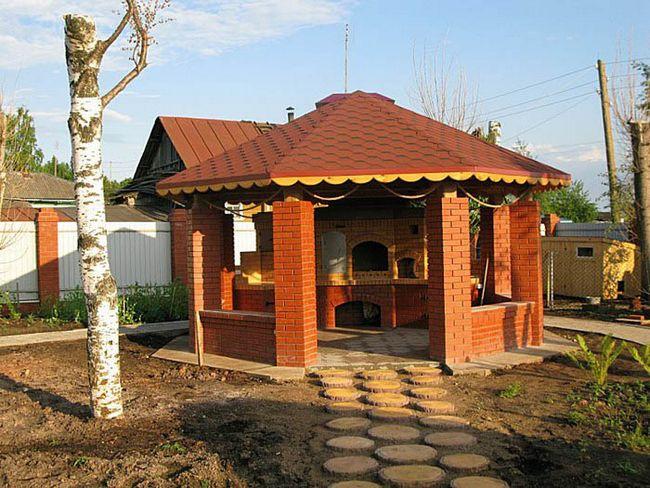 Внешний вид барбекю аренда домиков для барбекю