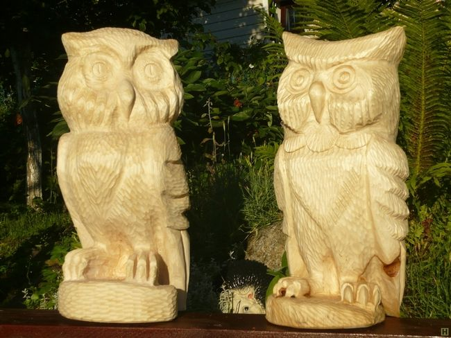 Деревянные скульптуры своими руками фото 42