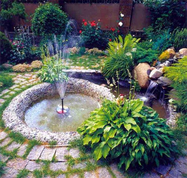 Дизайн фонтанов своими руками 458
