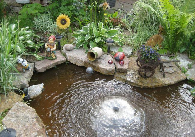 Маленькие фонтаны своими руками