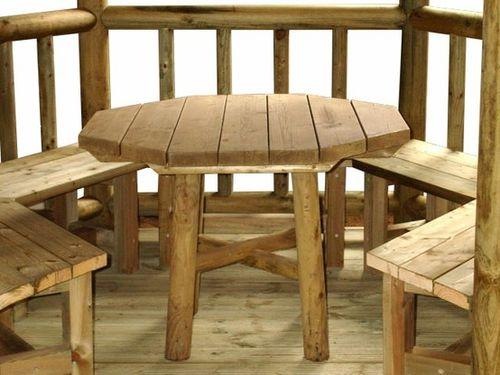 как сделать стол для беседки фото